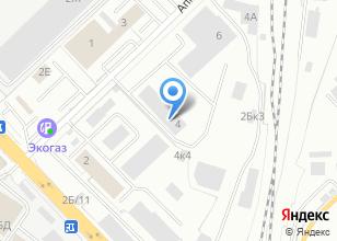 Компания «Инженерный сервис» на карте