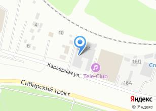 Компания «КроСта» на карте