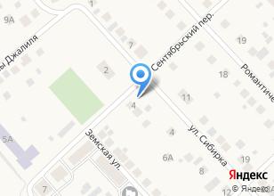 Компания «ПрофУралСтройКомплект» на карте