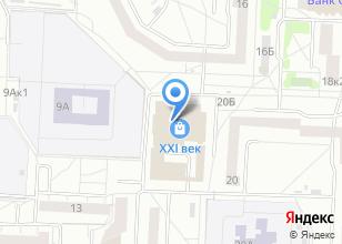 Компания «Комсистем» на карте
