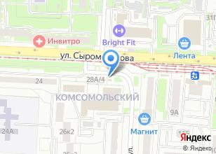 Компания «Kordon13.ru» на карте