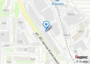 Компания «Гаражно-строительный кооператив №440» на карте
