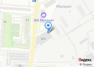 Компания «АВАЛДА» на карте