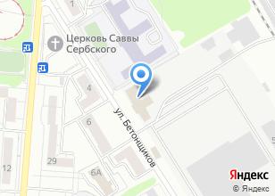 Компания «Монтаж ТЭО» на карте