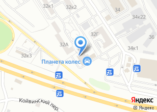 Компания «Дива-Екатеринбург» на карте