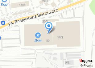 Компания «VIPокно» на карте