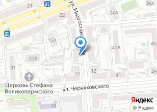 Компания «Химмаш» на карте