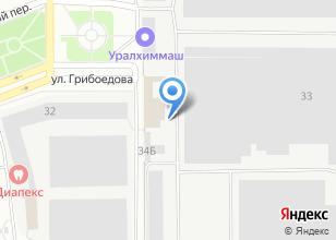 Компания «Домаск» на карте