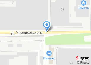 Компания «Радомир» на карте