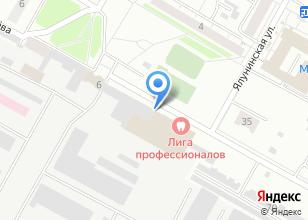 Компания «ПРОФИДЕКОР» на карте