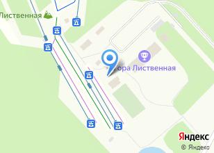 Компания «Лиственная» на карте