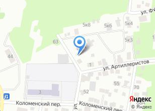 Компания «АртШтайн» на карте