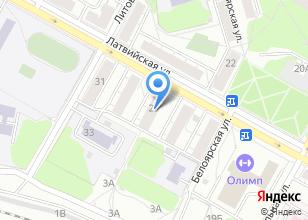 Компания «Лайна» на карте