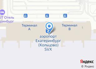 Компания «S7» на карте