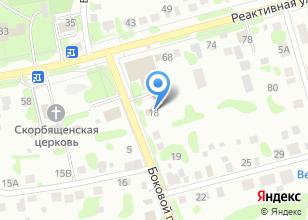 Компания «ТОНУС-КЛУБ» на карте