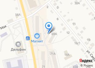Компания «КАПКАН» на карте