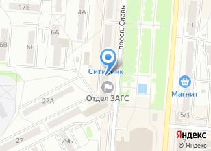 Компания «Компьютерная клиника №744» на карте