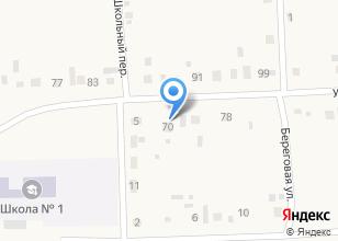 Компания «Продуктовый магазин на ул. Исаковых» на карте