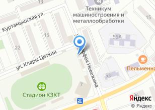 Компания «Ажур-авто» на карте