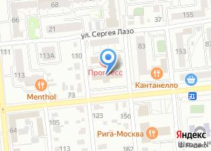 Компания «Управление противопожарной службы Омской области» на карте