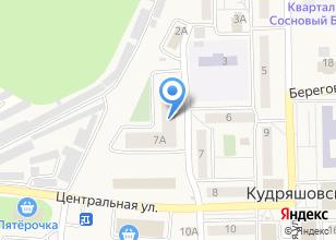 Компания «Антра» на карте
