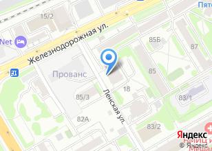 Компания «Адвокатский кабинет Никифоровой Е.С.» на карте