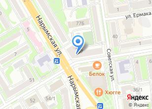Компания «Визатурсервис» на карте