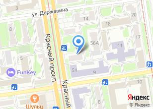 Компания «J`adore» на карте