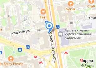 Компания «Сити Сервис» на карте