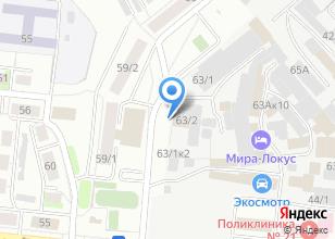 Компания «НСК-Энерго» на карте