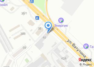 Компания «Сибирский торговый дом» на карте