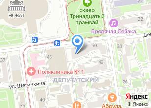 Компания «Наедине-Н» на карте