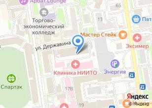 Компания «Здравица» на карте
