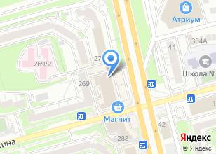 Компания «ЮНИТ МАРК ПРО, ЗАО» на карте