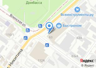 Компания «АБК МастерСервис» на карте