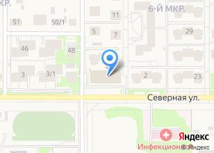 Компания «Строящееся административное здание по ул. 6-й микрорайон (Краснообск)» на карте