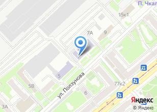 Компания «Академия финансов и банковского дела» на карте