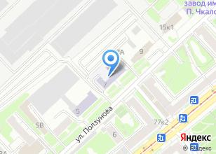 Компания «САФБД» на карте