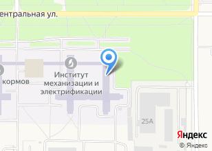 Компания «СибНИИП» на карте
