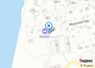 Компания «КРОНА Medical & Spa» на карте