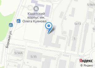Компания «Ардеко» на карте