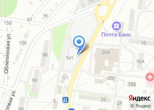 Компания «ЛесоТорговая База №1» на карте
