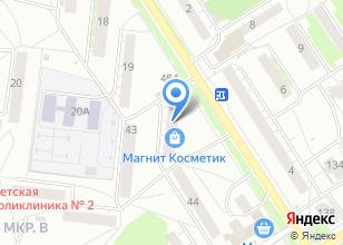 Компания «Магнит Косметик» на карте