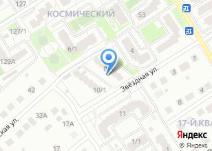 Компания «Строящийся жилой дом по ул. Космическая (г. Бердск)» на карте