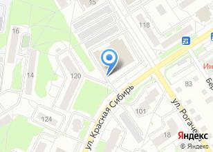 Компания «Крепеж & Инструмент» на карте