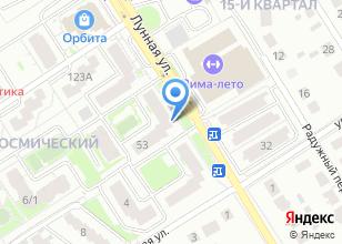 Компания «Космический» на карте