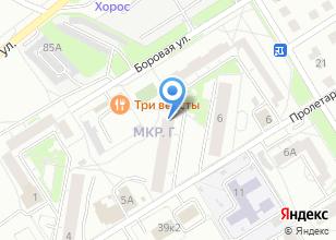 Компания «Сибирский Стандарт» на карте