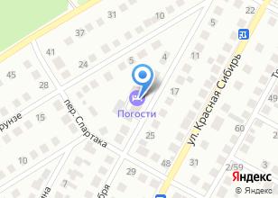 Компания «Жарко» на карте