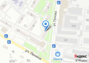 Компания «Ателье на ул. Попова» на карте