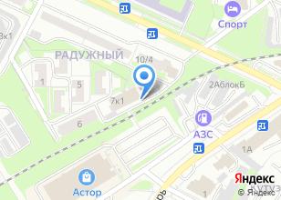 Компания «100 друзей» на карте